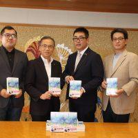 小説「きらきら眼鏡」150冊を船橋市に寄贈しました!